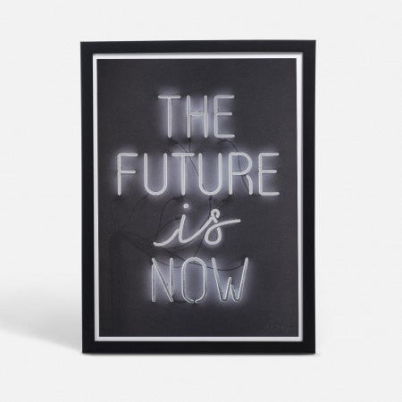 FUTURE MEDIUM BLACK FRAMED - iDecorate