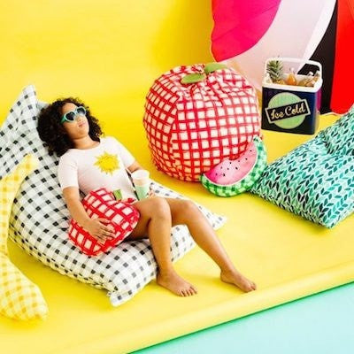 WATERMELON SLICE CUSHION