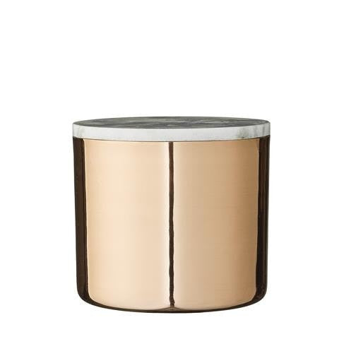 COPPER DECOR JAR