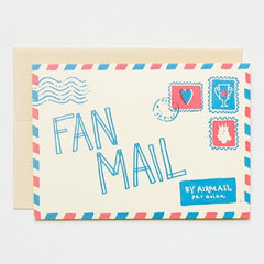 Fan Mail Card - iDecorate