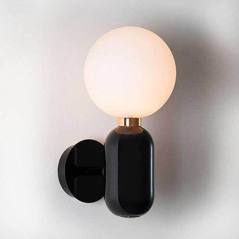 GATSBY BLACK WALL SCONCE