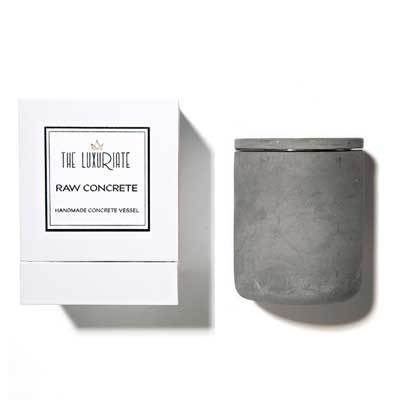 RAW CONCRETE CANDLE