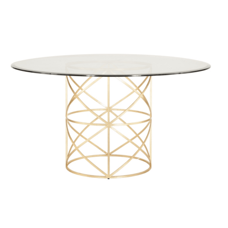 ANDERSON GOLD DINNING TABLE