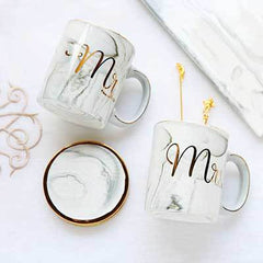 MR & MRS  MUGS  (SET OF 2)