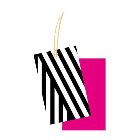 Stripe Gift Tag - iDecorate