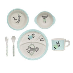 CIRCUS WOLF DINNER SET - iDecorate