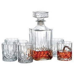 SQUARE DECANTER - iDecorate