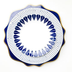 DALI BLUE CHARGER PLATE
