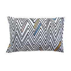 ZIG ZAG PILLOWCASE - iDecorate