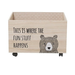 BEAR STORAGE BOX