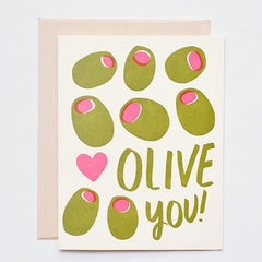 Olive You Card - iDecorate