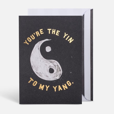 YIN YANG CARD - iDecorate
