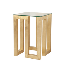 EVAN GOLD SIDE TABLE