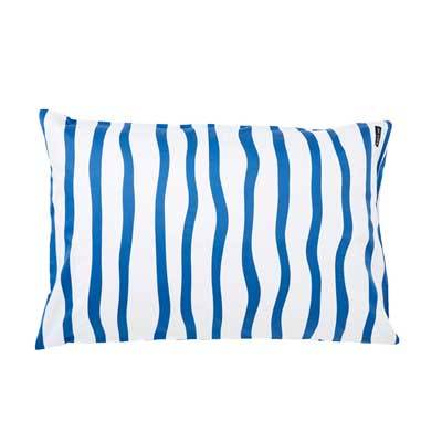 NAVY STRIPE PILLOWCASE