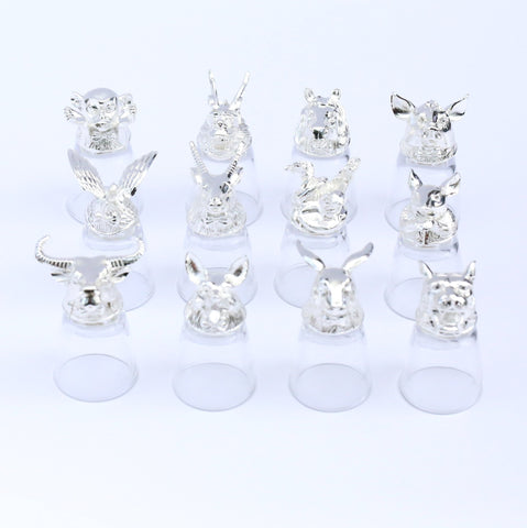 Zodiac Shot Glass Set of 12 - iDecorate