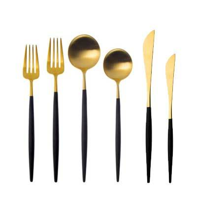 GOLDFINCH CUTLERY SET 6 PCS