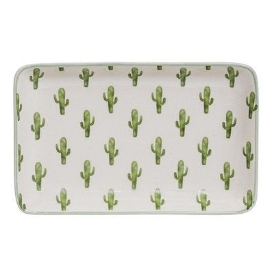 RECTANGLE CACTUS PLATE