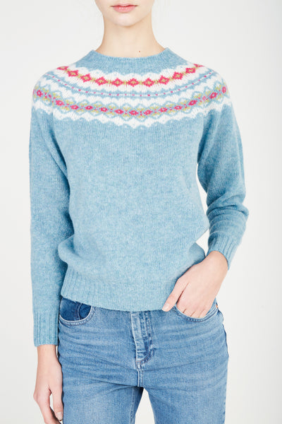 Scottish Fair Isle Sweater