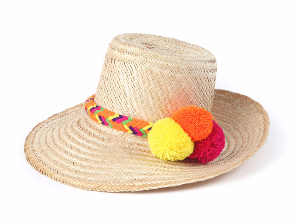 Colombian straw hat S