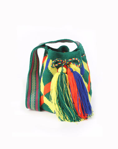 Colombian Wayuu mini mochila bag