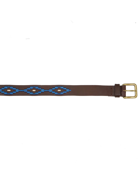 Argentinian handmade leather polo belt