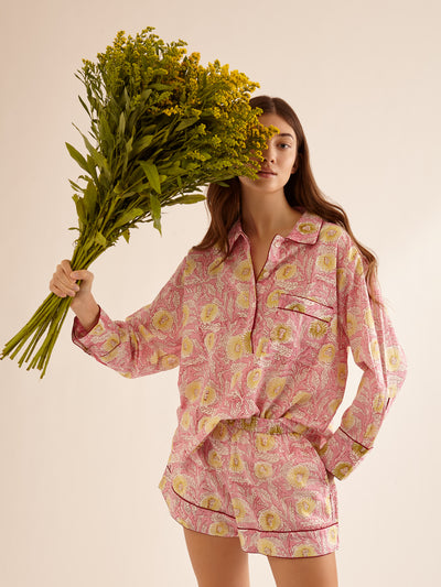 ETHICAL FASHION, CRAFTSMANSHIP, SUSTAINABLE FASHION, TRADITIONAL FASHION, ETHNIC FASHION, BOHEMIAN FASHION, MODA ETICA, MODA SOSTENIBILE, TECNICHE ARTIGIANALI, MODA TRADIZIONALE, MODA ETNICA, BOHEMIAN DRESS, MADE IN INDIA, HANDMADE IN INDIA, BLOCK PRINT, FLOWER PAJAMAS, PIGIAMA A FIORI, PIGIAMA DI COTONE, COTTON PAJAMA, SILK PAJAMA, PIGIAMA DI SETA, VESTAGLIA, NIGHTWEAR, SLEEPWEAR, FASHION PAJAMA, ETNIC PRINTS, STAMPE INDIANE, STAMPE ETNICHE