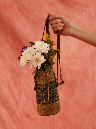 Colombian beaded Mochila bag