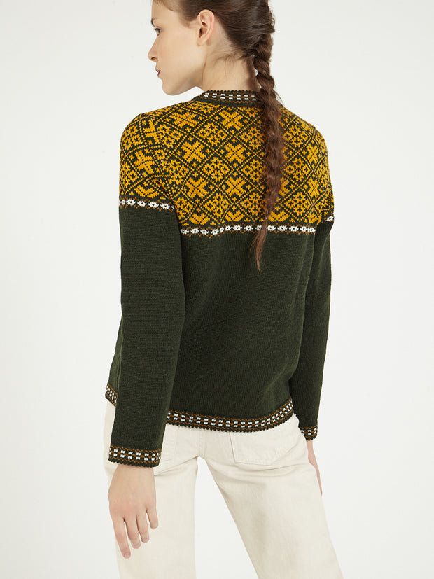 Estonian nordic sweater
