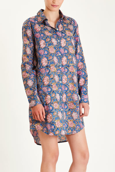 Indian cotton nightshirt