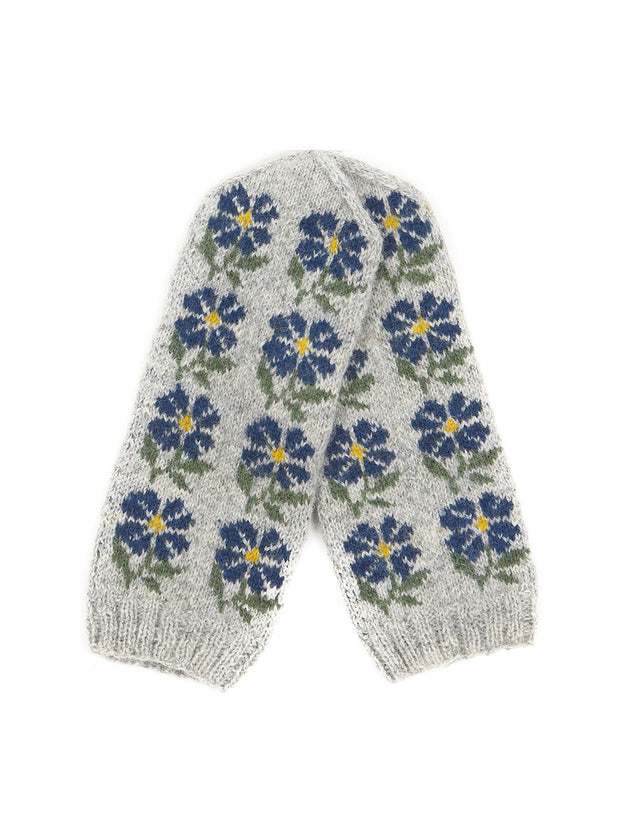 Latvia wool mittens gloves knitted knit