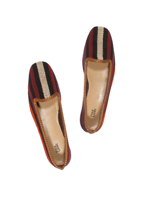 Turkish kilim slippers - size 37