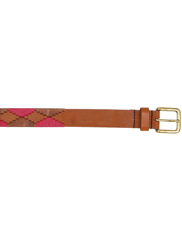 Argentinian handmade leather polo belt cintura fatto a mano argentina pelle ricamanto