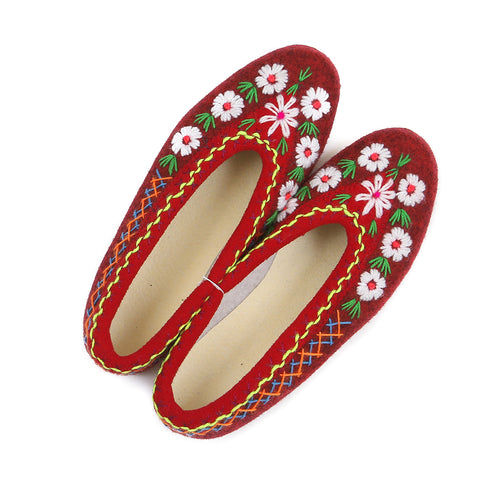 Polish felt slippers - size 39