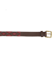 Argentinian handmade leather polo belt cintura fatto a mano argentina