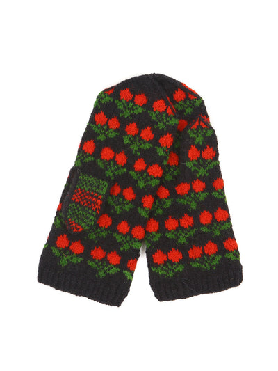 Latvian wool mittens