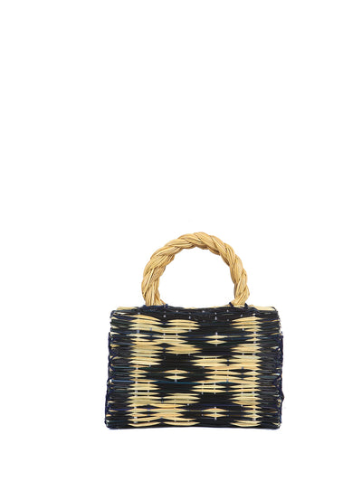 portuguese reed straw basket