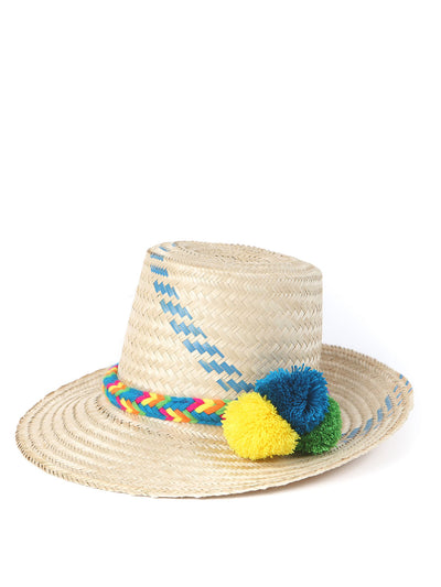 handmade Colombian straw hat