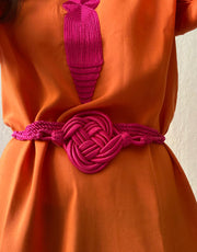 Moroccan knot Belt