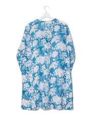 Indian voile cotton short kaftan