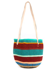 Ethical fashion, craftsmanship, sustainable fashion, traditional fashion, ethnic fashion, moda etica, moda sostenibile, tecniche artigianali, moda tradizionale, moda etnica, fatto a mano, handmade, borsa colorata, colorful bag, basket bag, borsa di lana, kiondo, borsa kiondo, kenya, africa, moda africana, african fashion, boho bag, bohemian bag, borsa boho, borsa bohemia.