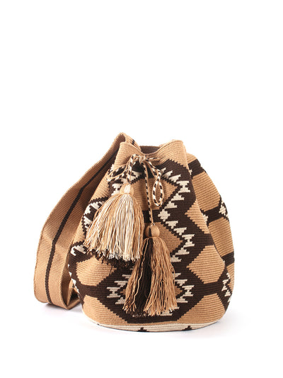 Colombian Wayuu large mochila bag