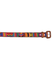Guatemalan handmade Hand-woven belt by Mayan descendants in the Chichicastenango area