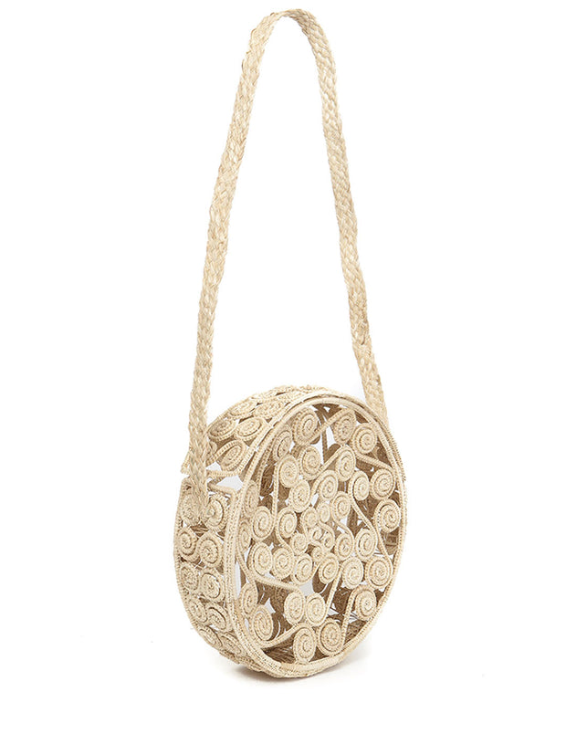 Colombian iraca palm bag handmade