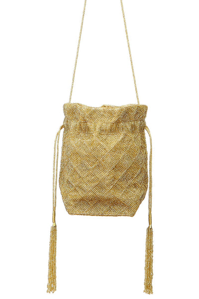 Indian Potli beaded bag