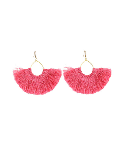 Thai tassel earrings