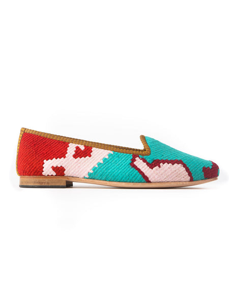 Turkish kilim slippers - size 41
