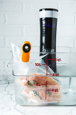 Sous Vide Cooking (Chicken Breast)