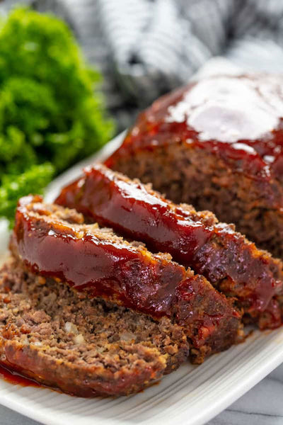 17. COUNTRY MEATLOAF WITH TOMATO SAUCE - 1.2KG