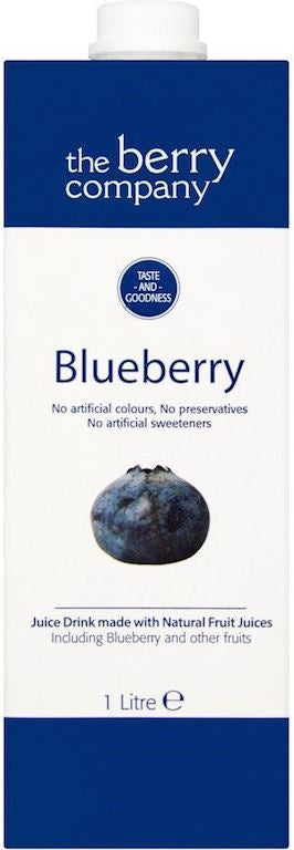 The Berry Company Blueberry Juice Drink 1L