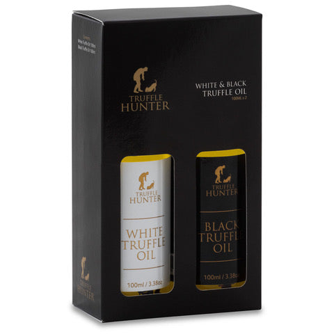 75. TRUFFLE HUNTER BLACK & WHITE TRUFFLE OIL SELECTION 2 X 100ML - Swiss Butchery | A Cut Above | Premium Butchers Since 1994